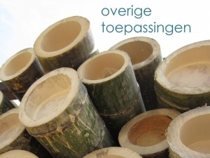 overige bamboe toepassing